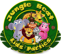 Jungle Beat Kids Party Venue Logo